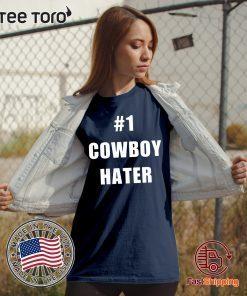 1 Cowboy Hater Houston Texans fuck the Cowboys 2020 T-Shirt