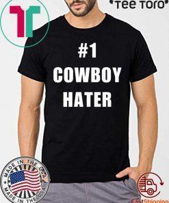 1 Cowboy Hater Houston Texans fuck the Cowboys Gift T-Shirt