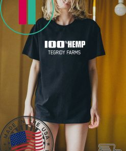 100% Hemp Tegridy Farms Parody T-Shirt