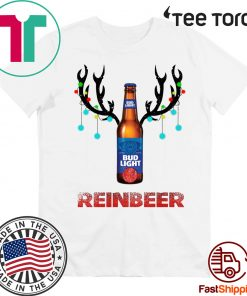 Bud light Reinbeer Christmas Shirt - Offcial tee