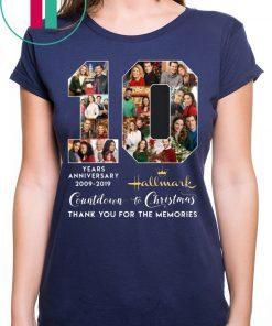 Hallmark Countdown To Christmas 10 Years Anniversary Shirt Christmas Gift