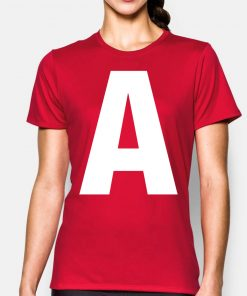 Letter A Chipmunk Halloween Christmas Gift T Shirt