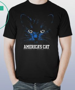 Dallas Football Black Cat TShirt America's Cat