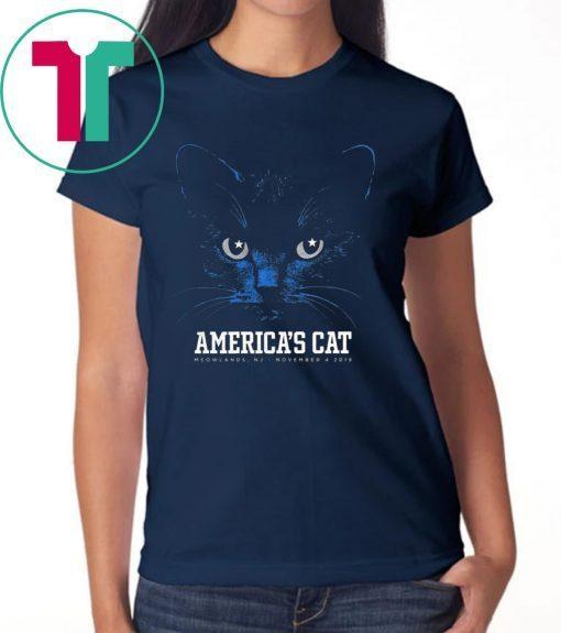Dallas Football Black Cat TShirt America's Cat