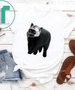 Black Cat Dallas Cowboys T-Shirt for Mens Womens Kids