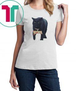 Black Cat Hot Boyz Football T-Shirt