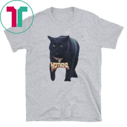 Black Cat Hot Boyz Tee Shirt