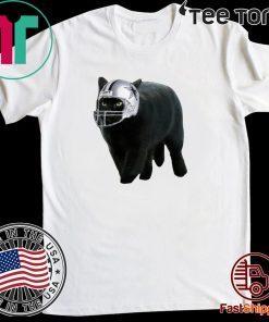 Official Dallas Cowboys Black Cat Tee Shirt