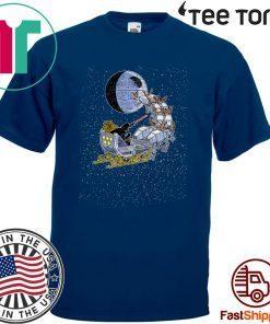 Star Wars Christmas Darth Vader Santa's Sleigh Classic T-Shirt