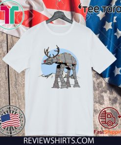 Star Wars Rudolph ATAT Walker Reindeer ATAT Shirt Funny Xmas Gift