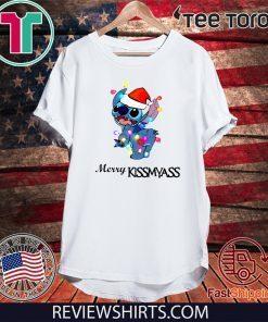 Stitch Merry Kiss my ass For T-Shirt