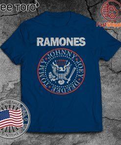 THE RAMONES SHIRT T-SHIRT