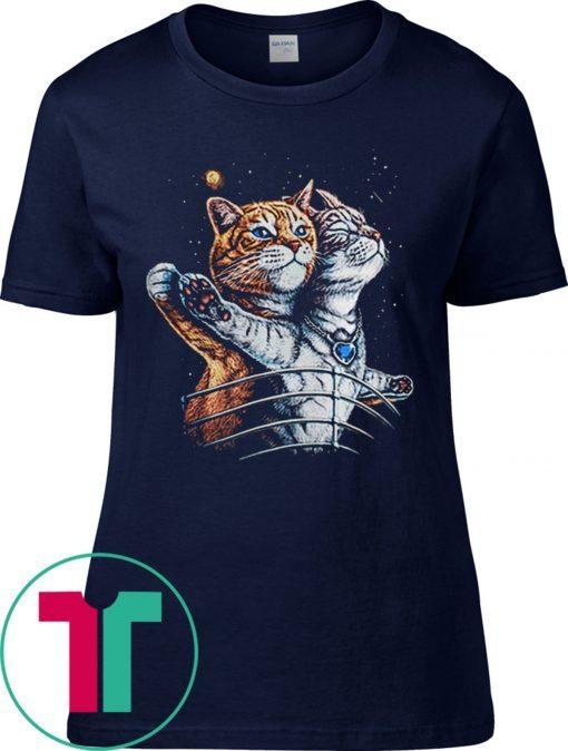 Titanic Cats Funny Cat Lovers T-Shirt