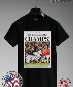 World Series Champions 2019 The Washington Nationals Post Champs Classic T-Shirt