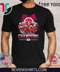 2019 Big Ten Conference Champions Player Tee Shirt