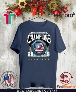 2019 East Division Champions Eagles Shirt T-Shirt