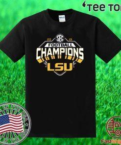 2019 LSU SEC Championship Offcial T-Shirt