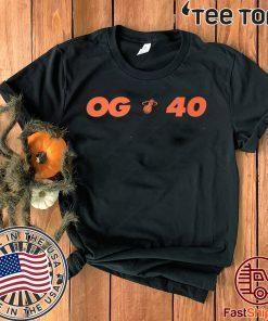 Miami Heats OG 40 Shirt T-Shirt