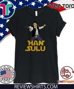 Star Trek Han Sulu Offcial T-Shirt