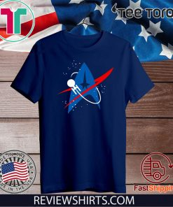 Star Trek Mixed Nasa Badge Unisex T-Shirt