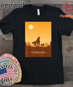 Star wars Baby Yoda Mandalorian and child Limited Edition T-Shirt