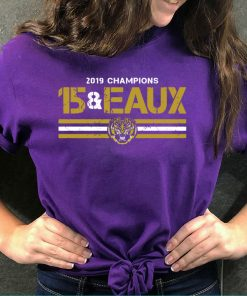 15&Eaux Championship Licensed by LSU 2020 T-Shirt