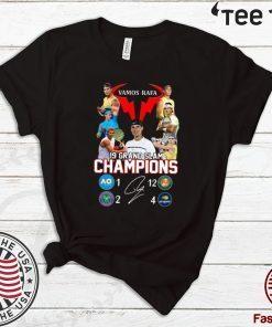 Vamos Rafa 19 Grand Slam Champions For T-Shirt