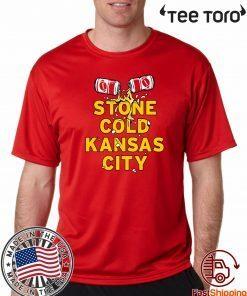 STONE COLD KANSAS CITY UNISEX T-SHIRT