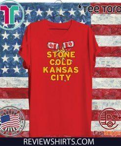 Stone Cold Kansas City Shirt - KC Football Tee Shirt
