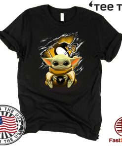 Star Wars Baby Yoda Blood Inside Pittsburgh Penguins 2020 T-Shirt