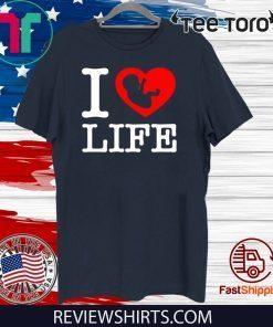 Steve The Missionary I Heart Love Life Anti-Abortion Funny T-Shirt