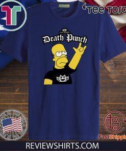 The Simpsons Five Finger Death Punch Shirt T-Shirt