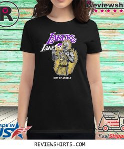 Warren Lotas Lebron James LA Lakers LA City Of Angels Tshirt Unisex S-5XL