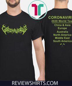 Coronavirus 2020 World tour T-Shirt