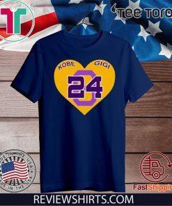 Tampa Bay Lightning honoured Kobe and Gigi Official T-Shirt