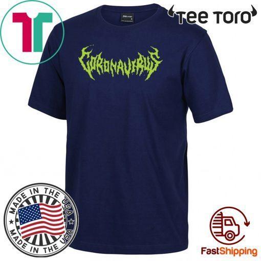 World Tour Coronavirus 2020 Tee Shirt