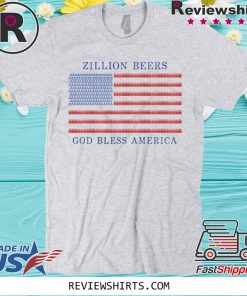 Zillion Beers America Pocket 2020 T-Shirt