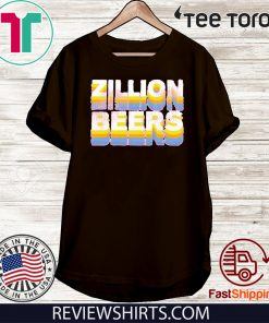 Zillion Beers Retro Official T-Shirt