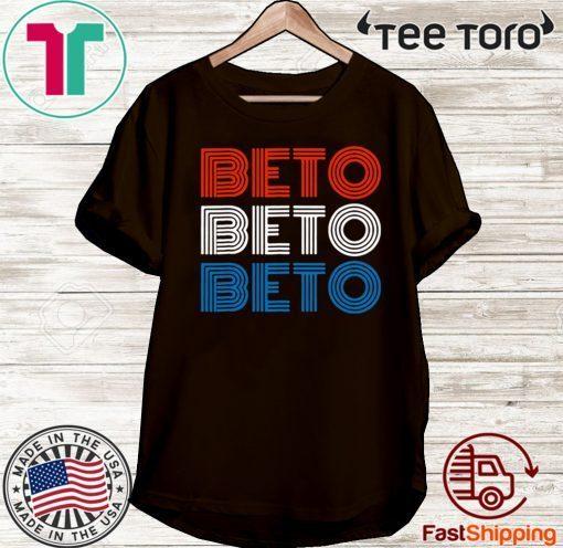 #BETO2020 - BETO T-SHIRT