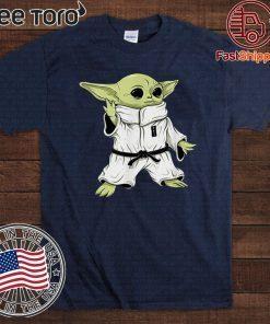 Baby Yoda Space Character Jiu Jitsu 2020 T-Shirt