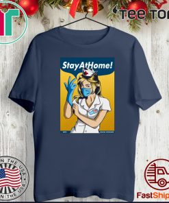 Stay Home Fight Coronavirus Official T-Shirt