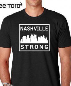 #nashvillestrong Nashville Strong 2020 T-Shirt