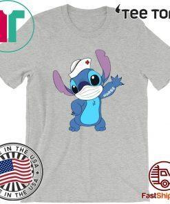 Stitch Mask Nurse 2020 T-Shirt