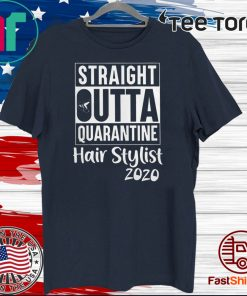 Straight Outta Hair Stylist Official T-Shirt