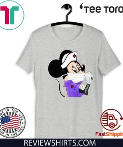Strong Minnie Mouse Nurse Shirt T-Shirt