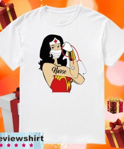 Strong Wonder Woman Nurse COVID-19 2020 T-SHIRT