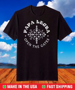Papa Legba Veve Open the Gates T-Shirt