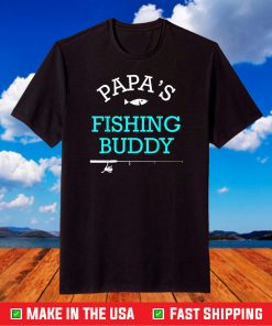 Papas Fishing Buddy T-Shirt