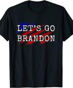 2021 Anti Biden ,Let's Go Brandon Chant T-Shirt